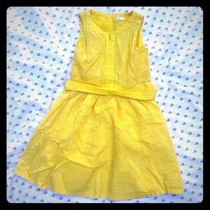 Crazy8 girls yellow sundress size 7